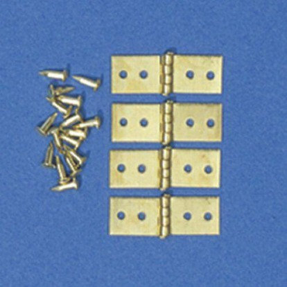 HINGES & PINS, 5MM X15MM, PACK OF 4,FREE POSTAGE