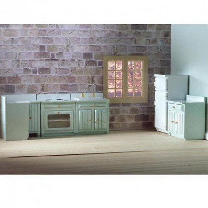 FITTED KITCHEN SET. 5 PIECES.  **FREE POST**