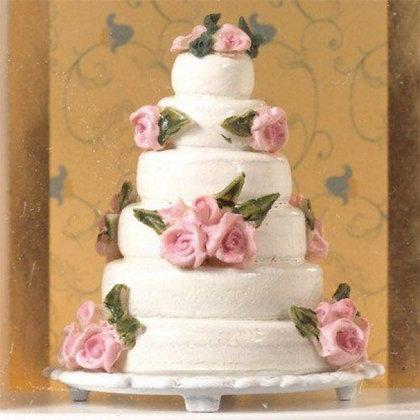 6 TIER WEDDING CAKE  FREE UK POST