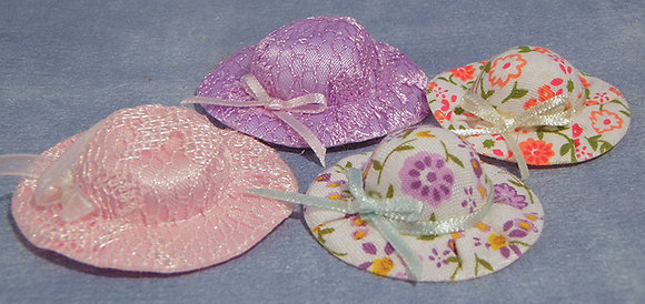 HATS, PACK OF 4 - FREE UK POSTAGE
