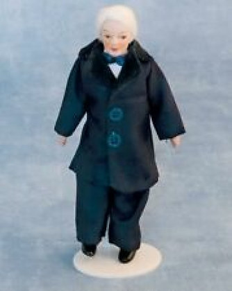 VICTORIAN GRANDFATHER-  POSEABLE    FREE UK P&P - FREE UK POSTt
