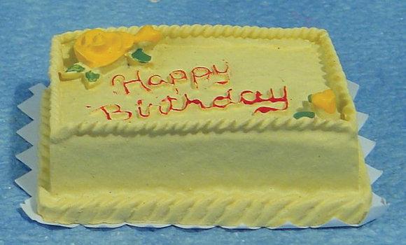 BIRTHDAY CAKE ** FREE UK POST**