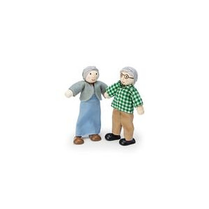 PAIR GRANDPARENT DOLLS