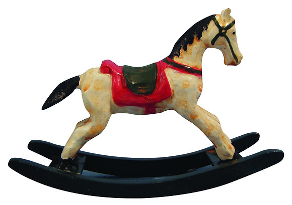ROCKING HORSE 12TH SCALE FOR DOLLS HOUSE NURSERY