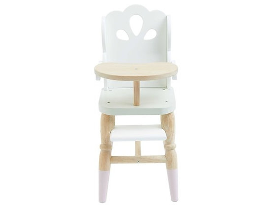 DOLLS HIGH CHAIR BY LE TOY VAN ***REDUCED***