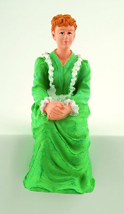 SITTING VICTORIAN LADY ** FREE POST***