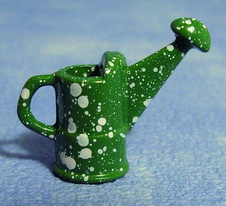 WATERING CAN IN GREEN, FREE UK POST