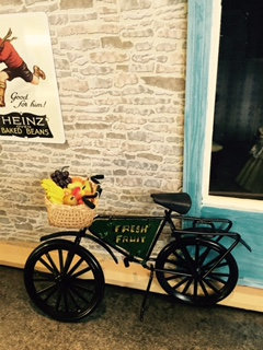 DELIVERY BIKE - GREENGROCERS FRUIT BIKE