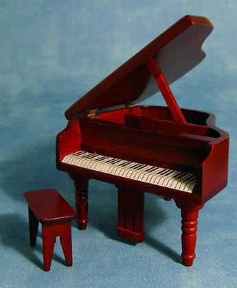 MAHOGANY GRAND PIANO