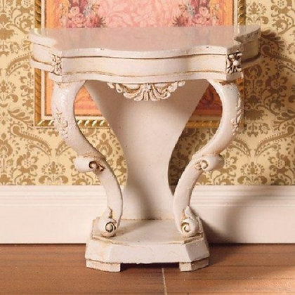 CONSOLE TABLE FRENCH-STYLE. DOLLS HOUSE 12TH SCALE SIDE TABLE