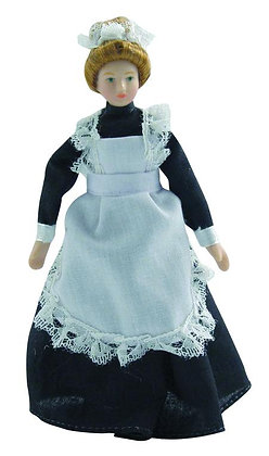 MAID  POSEABLE COMPLETE WITH STAND