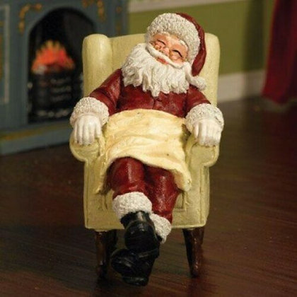 FATHER CHRISTMAS   RESIN 12TH SCALE DOLLS HOUSE FIGURE PEOPLE CHRISTMAS