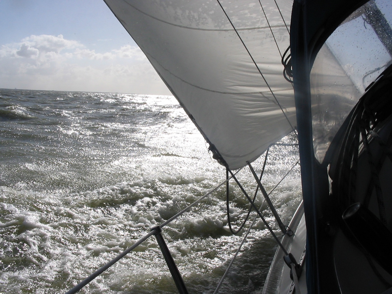 Zeilen aan de wind
