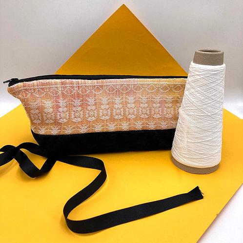 Handwoven Pencilcase - Life's a Lemon