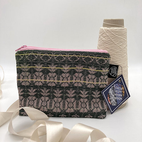 Handwoven Small Pouch - Forest of Fruits
