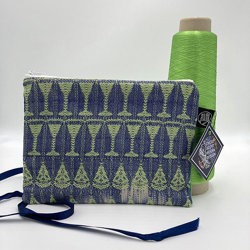 Handwoven Medium Pouch - Tequila Lime