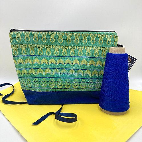 Handwoven Travel Bag - Green is Go