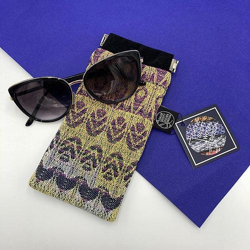 Handwoven Glasses Case - Purple Haze