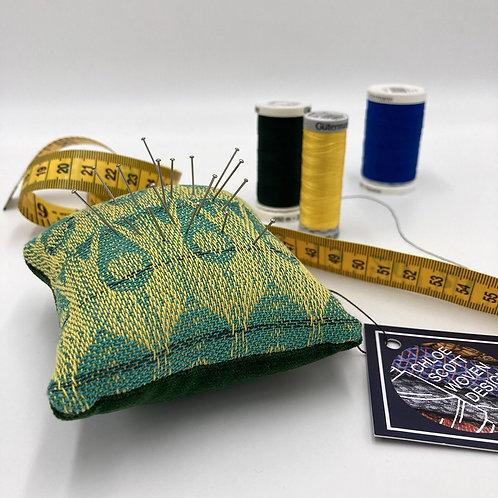 Handwoven Square Pin Cushion - Get Sett Go