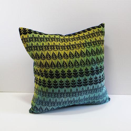Handwoven Cushion - Nature's Kaleidoscope