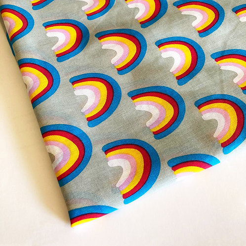 Rainbow Handmade PolyCotton/Cotton Face Covering