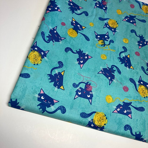 Cat Handmade Cotton Face Covering