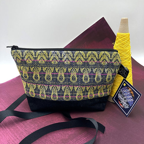 Handwoven Make-up Bag - Driving in the Night