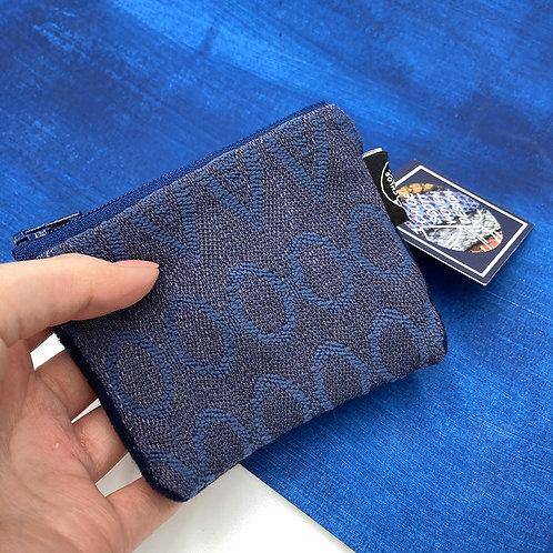 Handwoven Coin Purse - The Denim Pocket