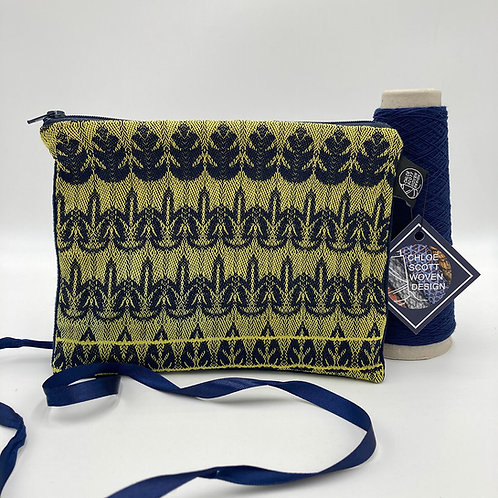 Handwoven Medium Pouch - In the Navy