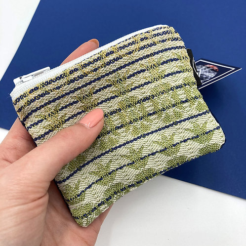 Handwoven Coin Purse - In The Navy