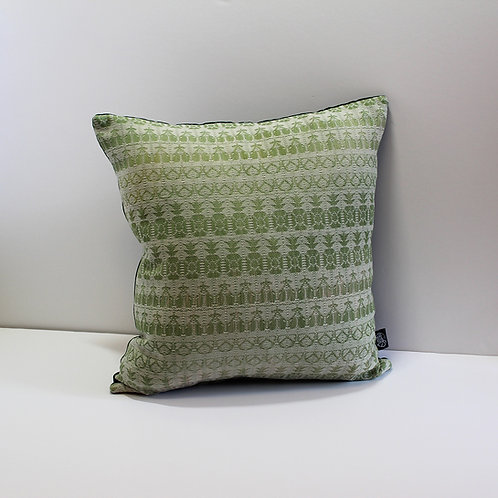 Handwoven Cushion - Cool Graze