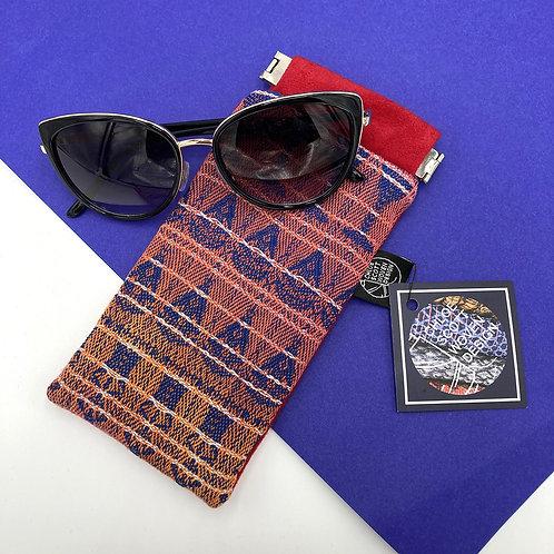 Handwoven Glasses Case - Sunset Dreams