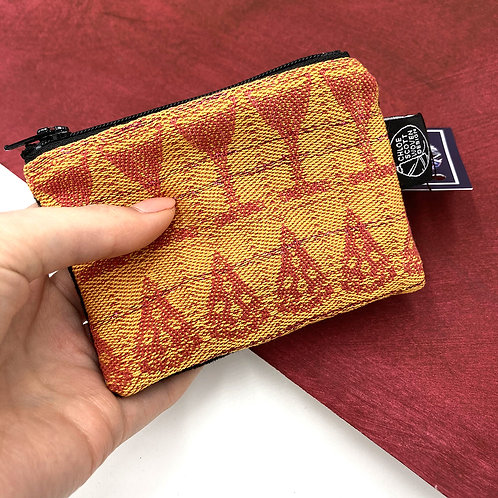 Handwoven Coin Purse - Tequila Sunrise