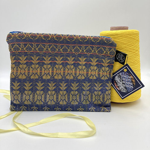 Handwoven Medium Pouch - Pineapple Turnover