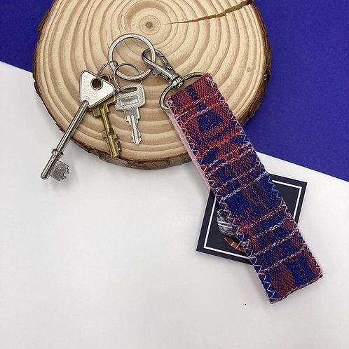 Handwoven Key Ring - Plum Daiquiri