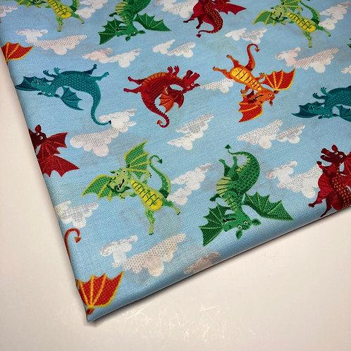 Dragon Handmade Cotton Face Covering