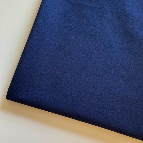 Navy Handmade Cotton Face Covering