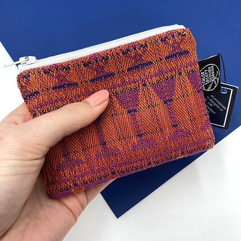 Handwoven Coin Purse - Tickled Pink