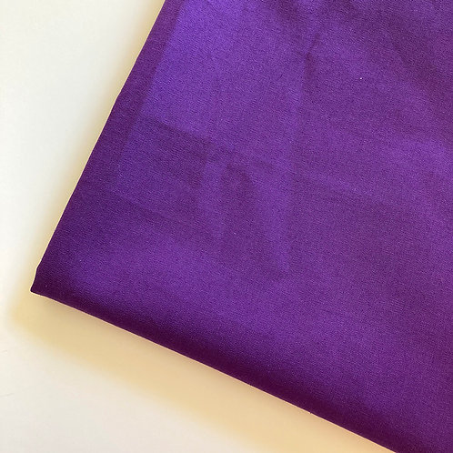 Purple Handmade Cotton Face Covering