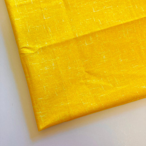 Yellow Handmade Cotton Face Covering