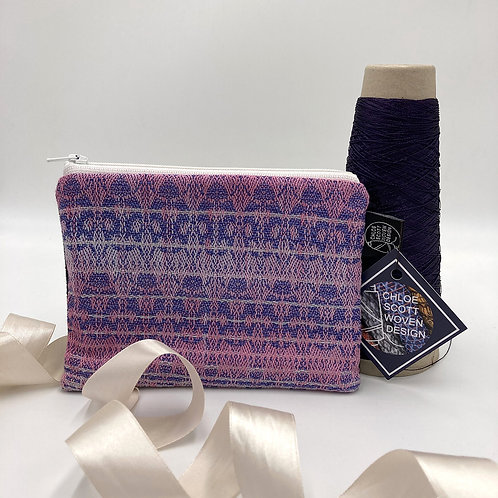 Handwoven Small Pouch - A Little bit of Pastel