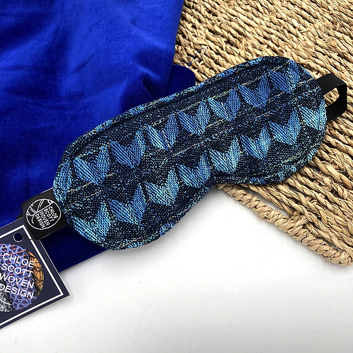 Handwoven Eye Mask - Night Sky