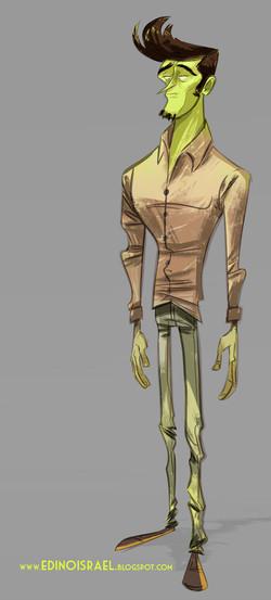 modelo zoombi character design 1