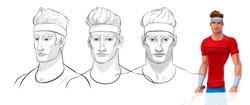 TENISTA ROTACION -head  v3