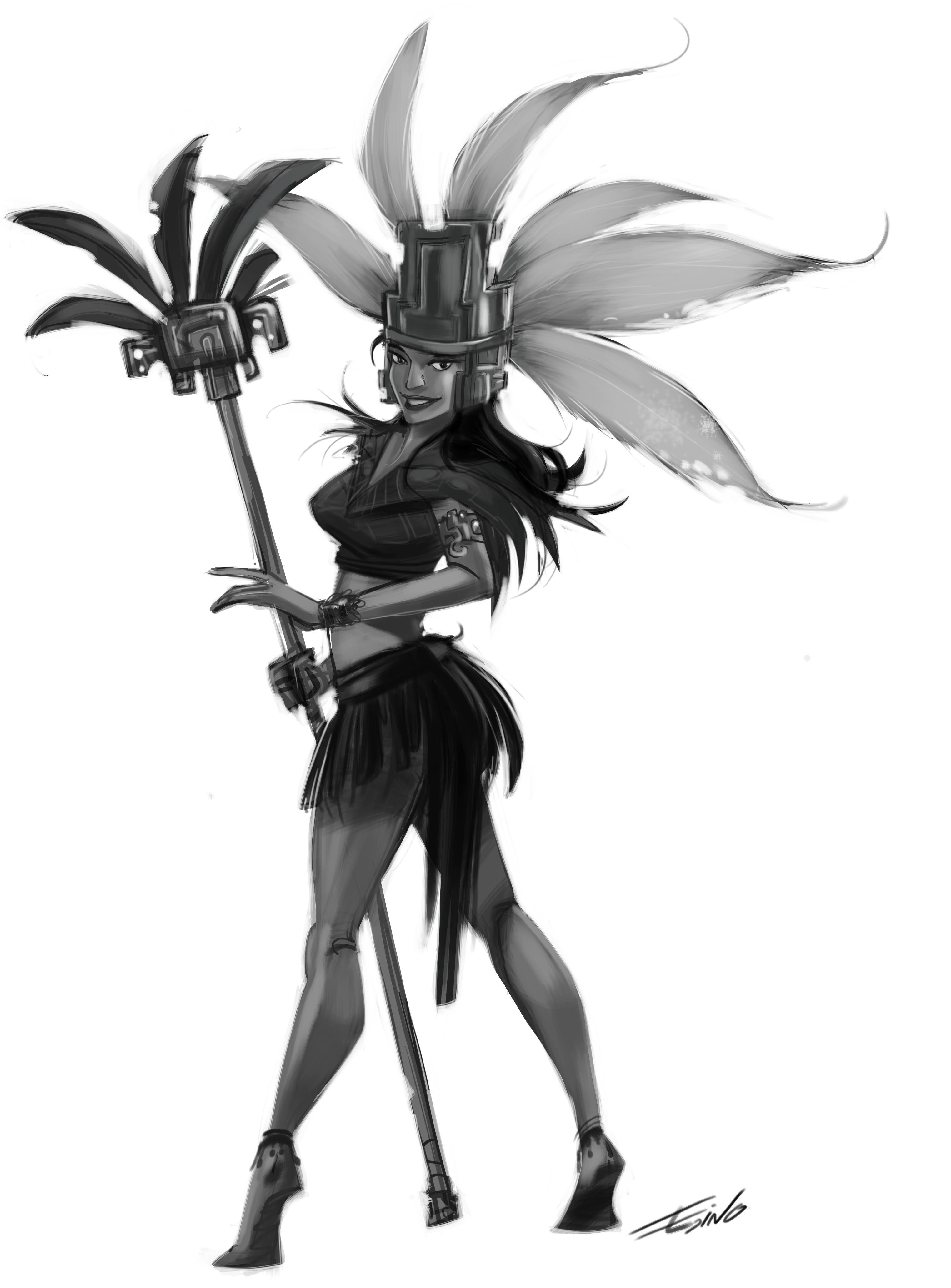 guerrera azteca 2