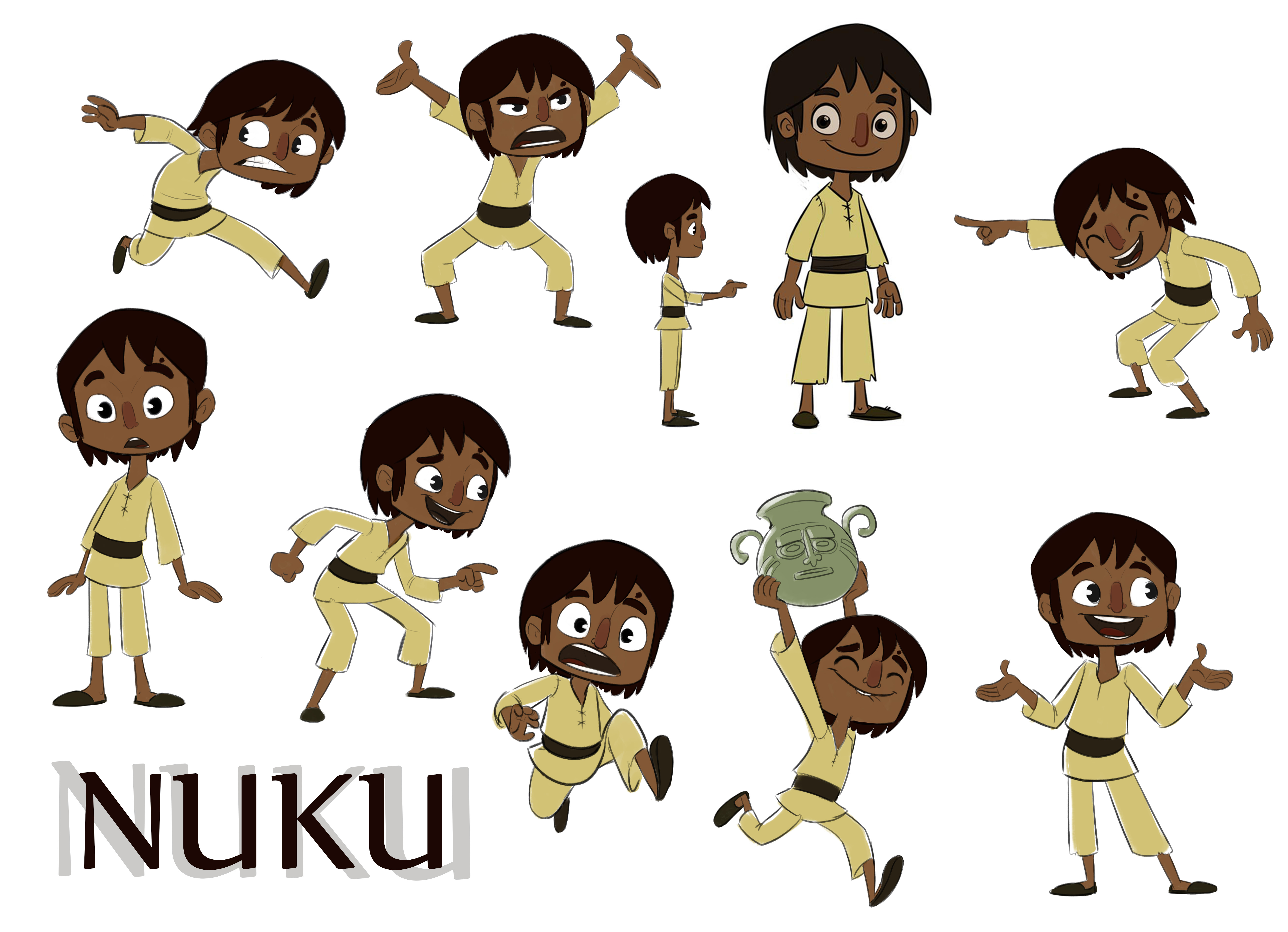 NUKU POSES FINAL COLOR 2