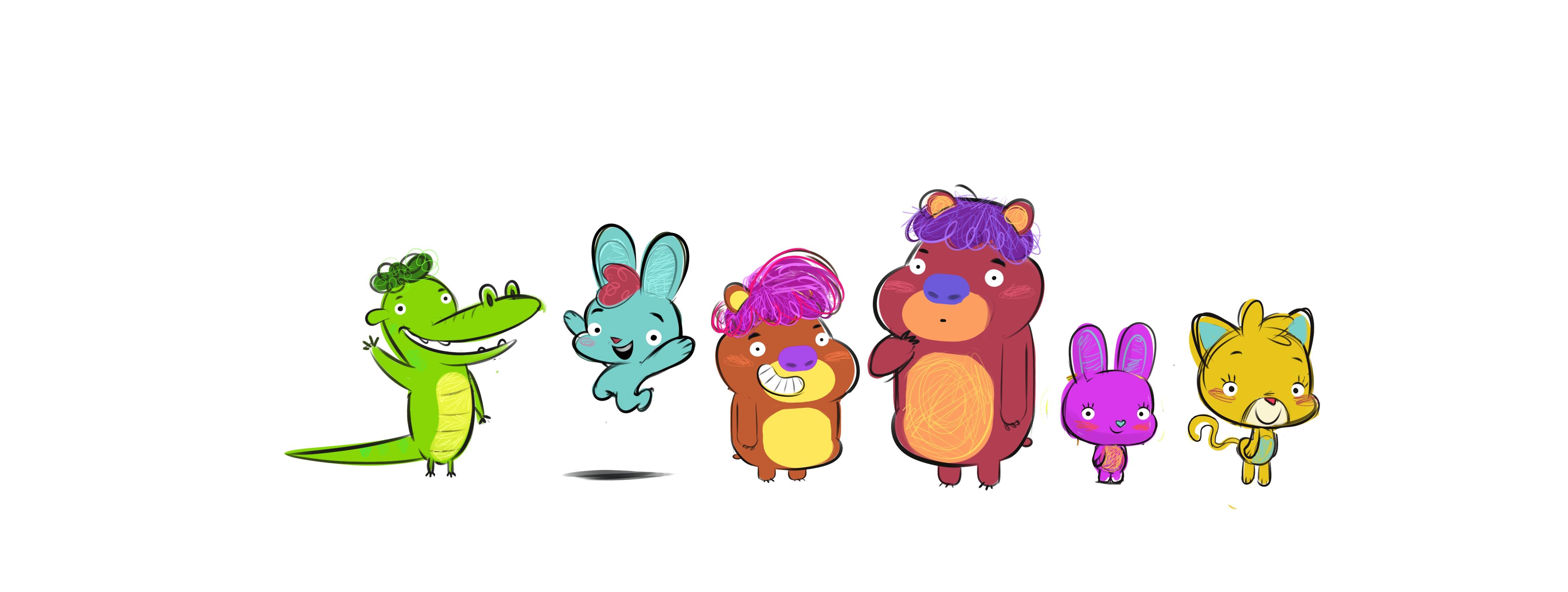 bocetos personajes 5