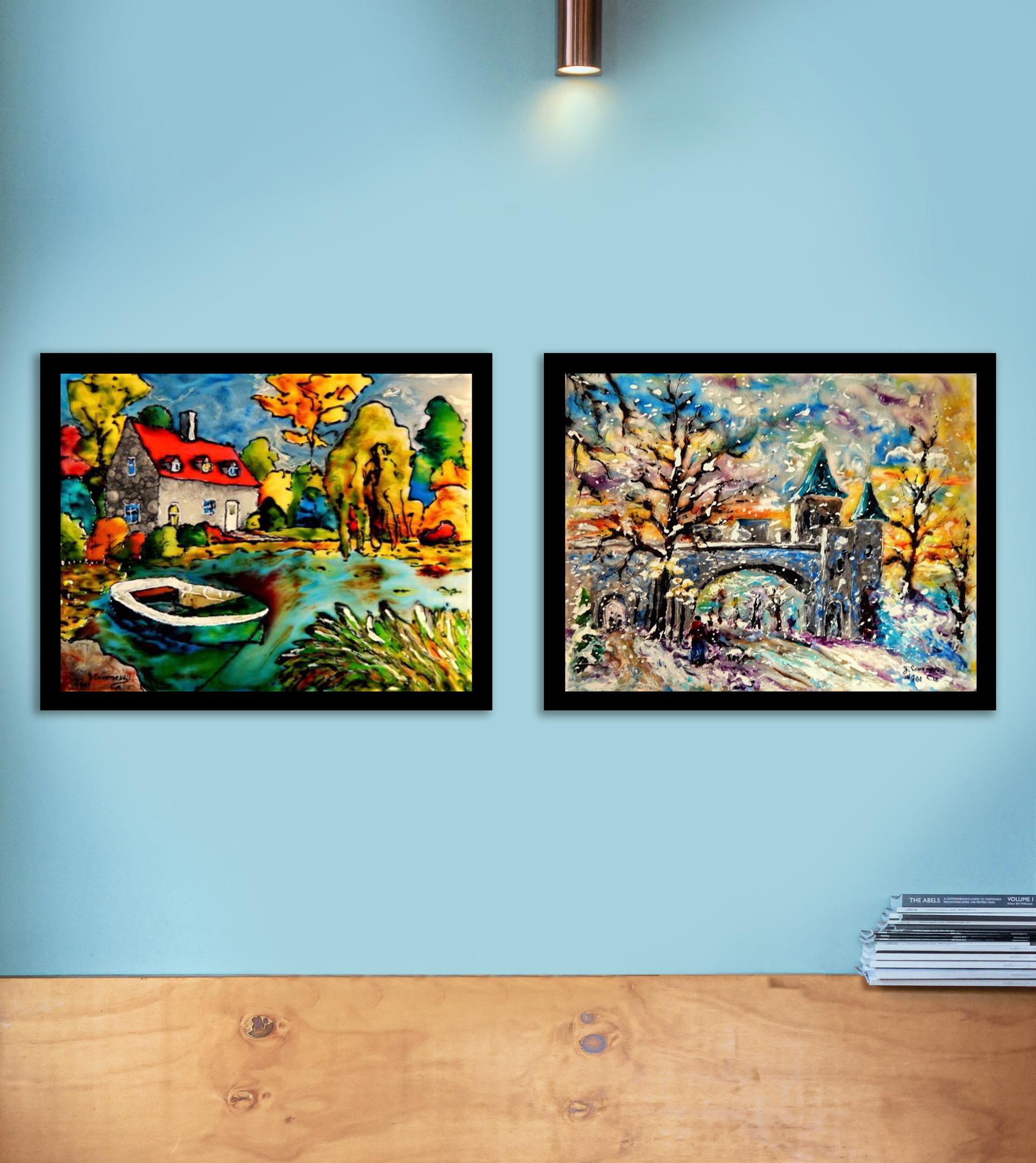 Peintures vitrail
