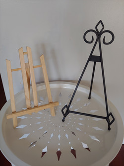 2 table easel