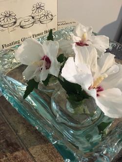 40 Flower Glass Floating Holders